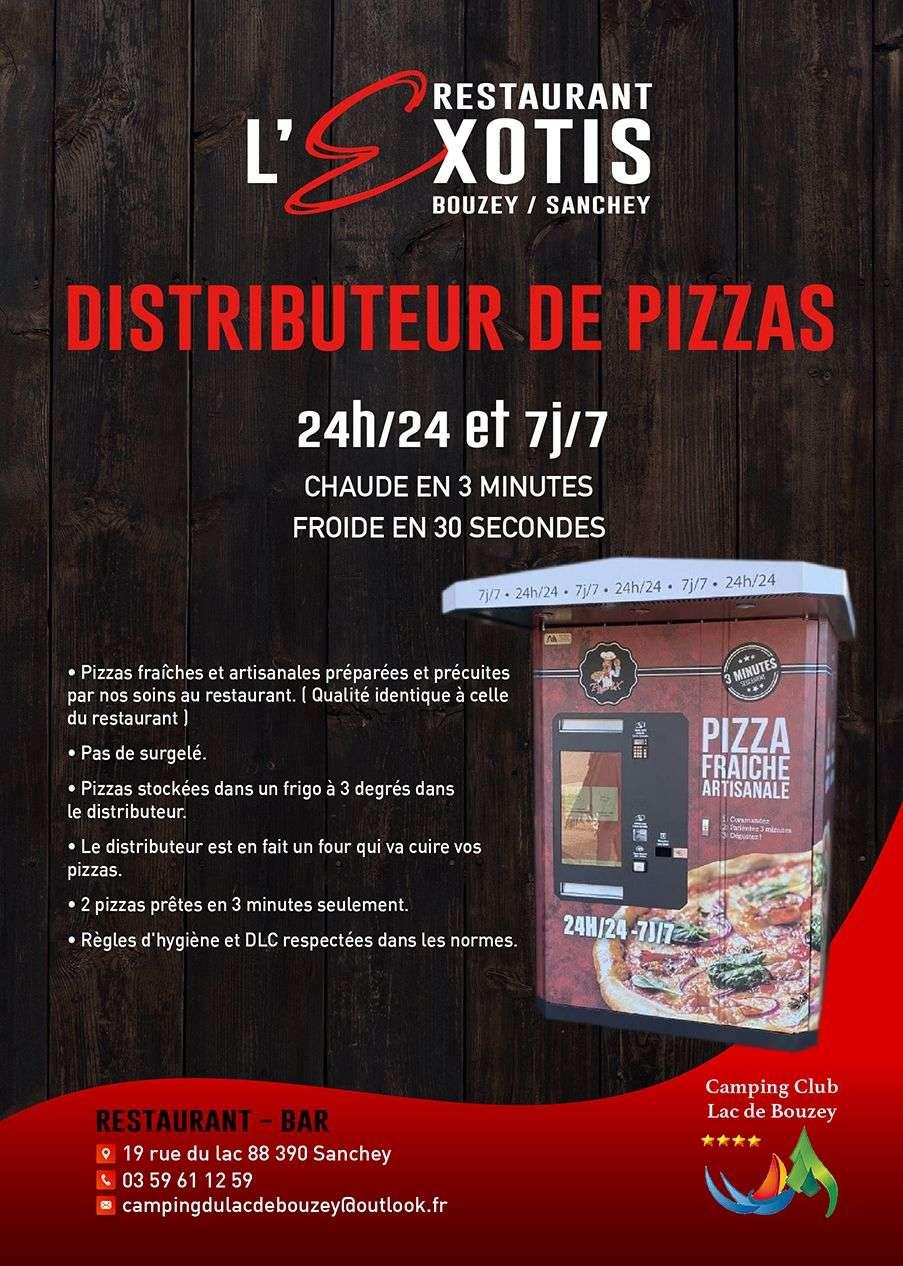Distributeur de pizzas