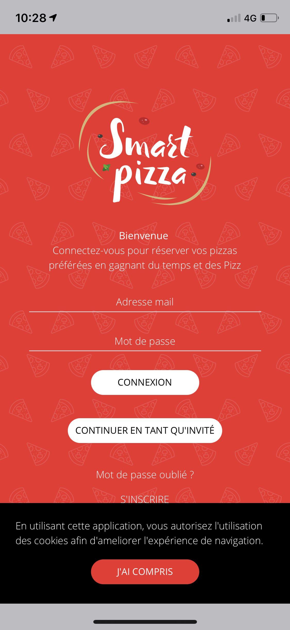 Application Smart Pizza