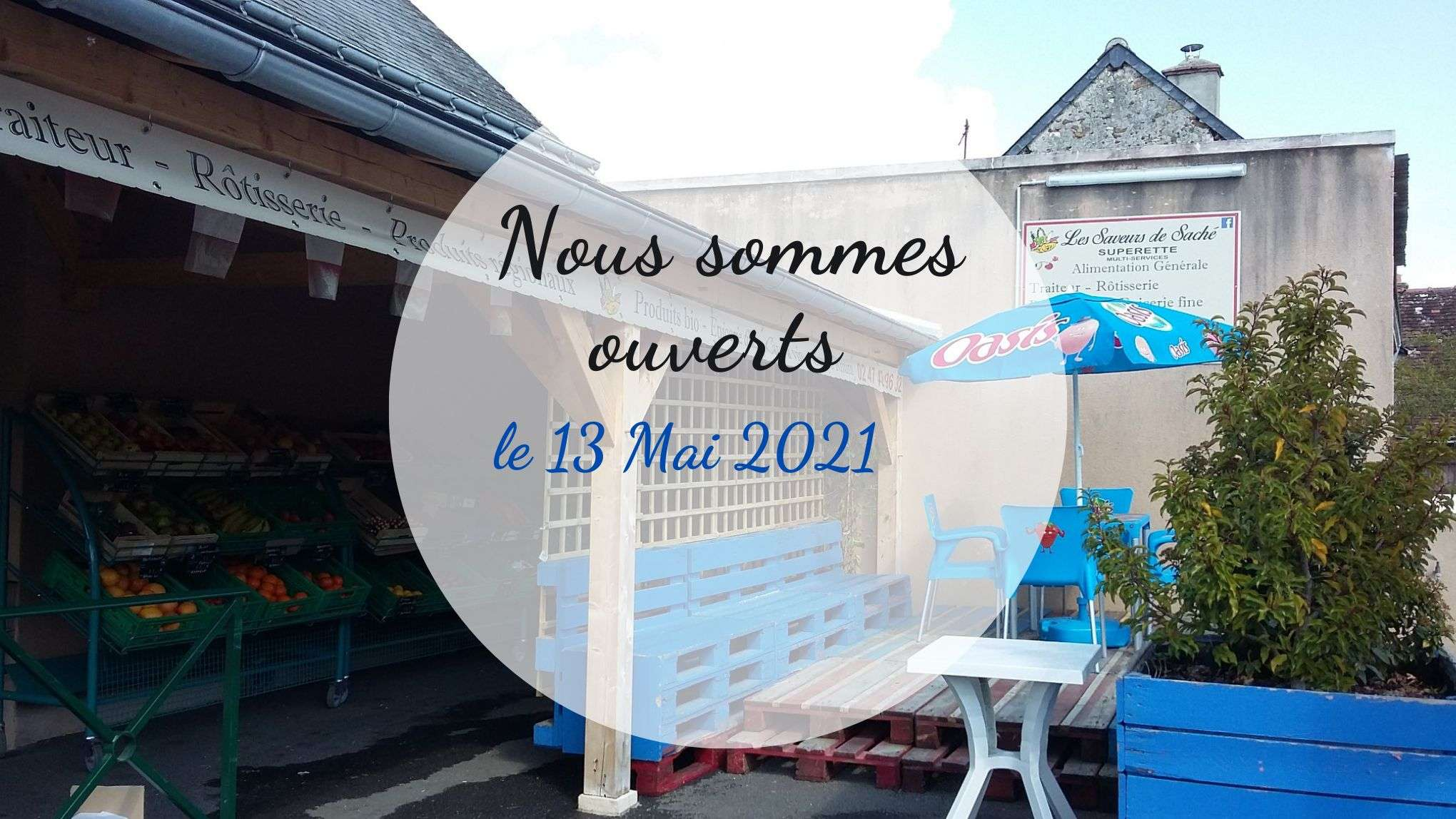 Nous somme ouverts !