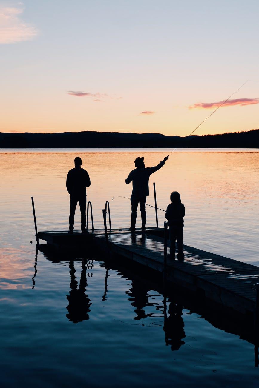 Pêche en eau douce ou en mer.