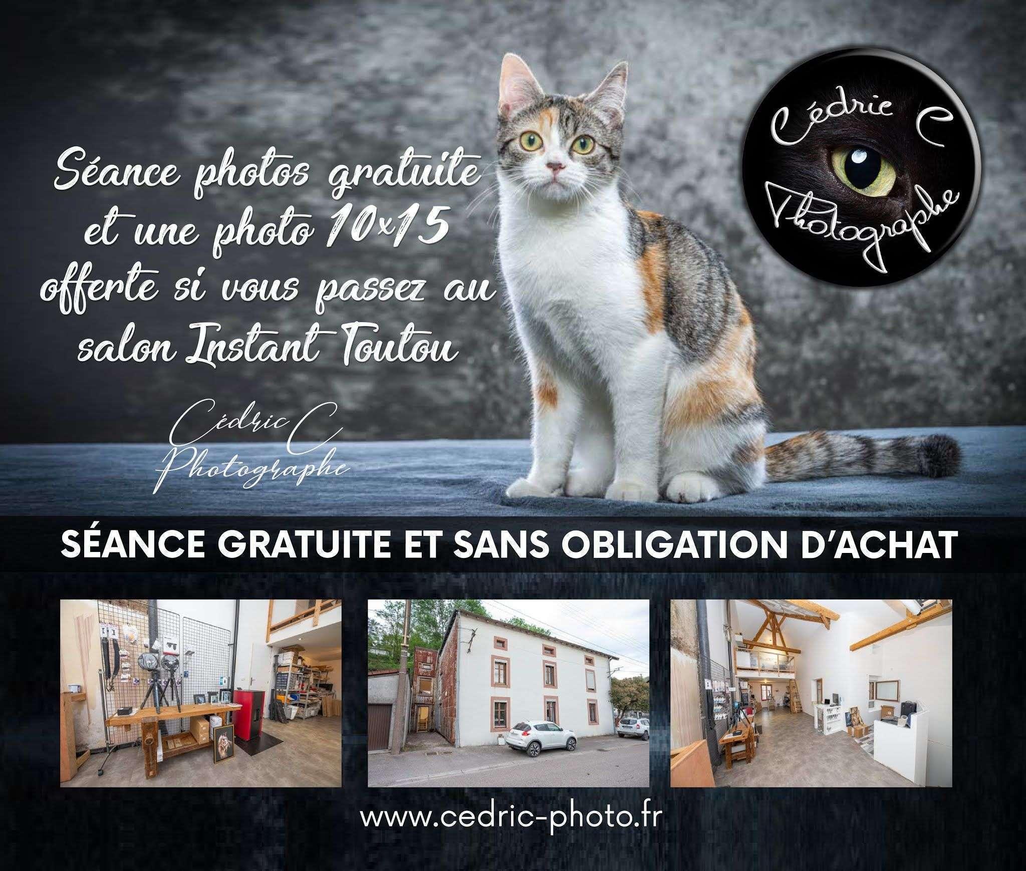 Séance photos offerte !