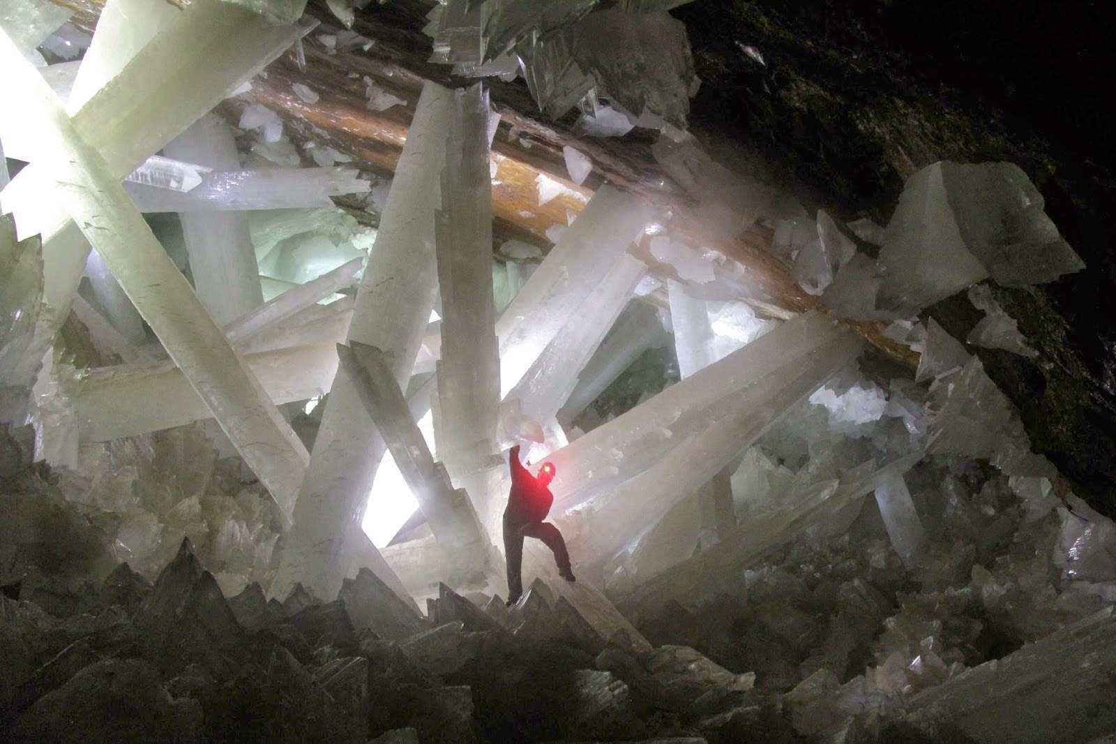 Naica, la grotte aux cristaux géants