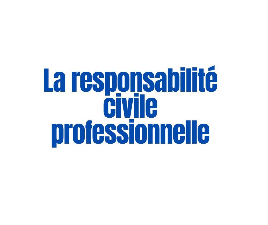La responsabilité civile professionnelle