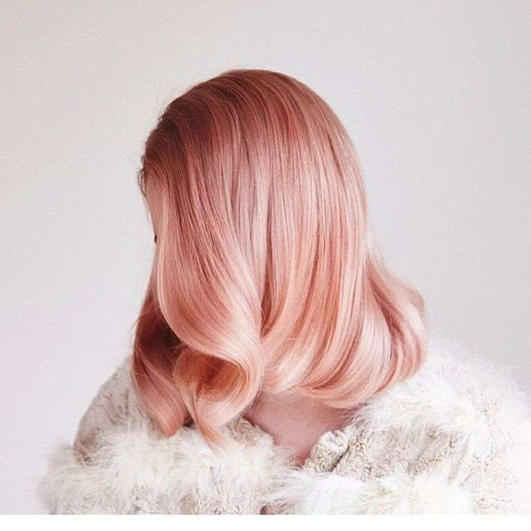 Le rose gold : La coloration tendance