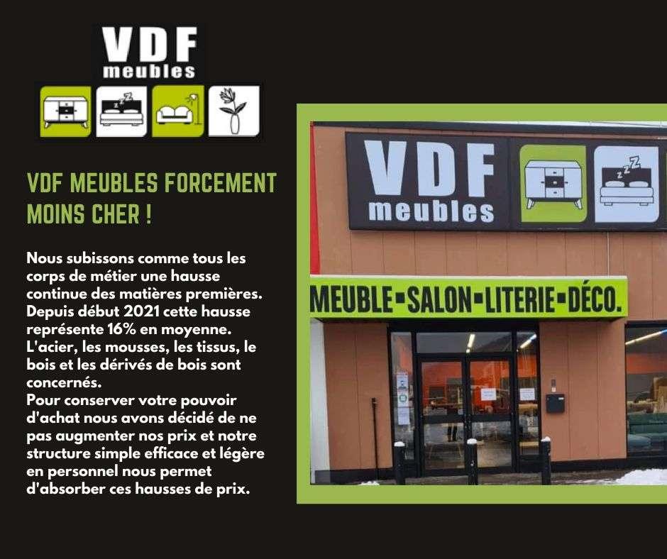 VDF MEUBLES FORCEMENT MOINS CHER !