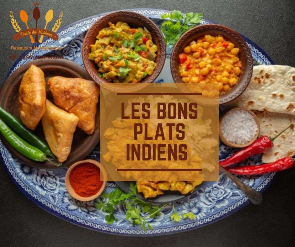 Les bons plats Indiens
