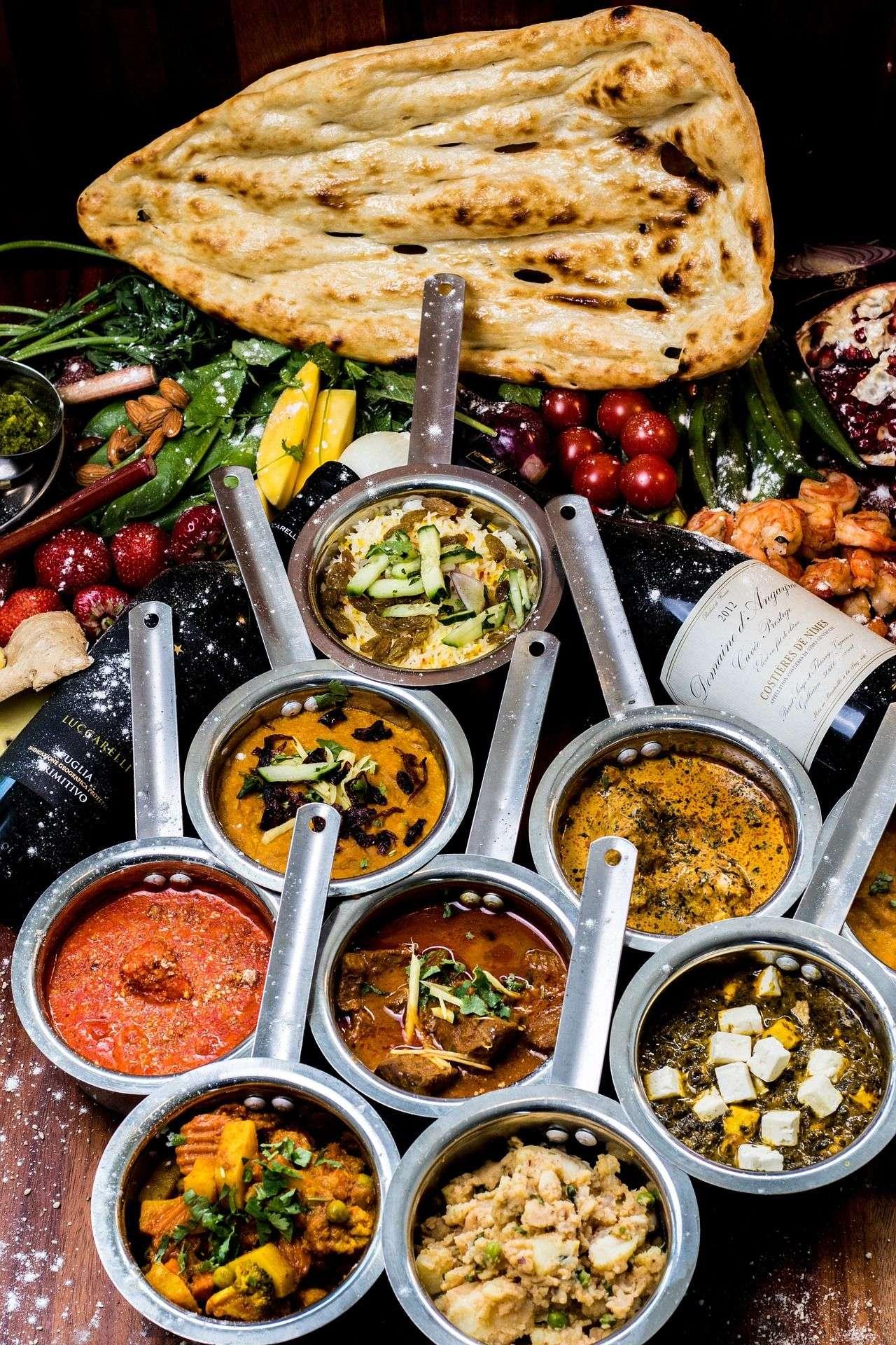 Pour les amoureux de la gastronomie indienne !