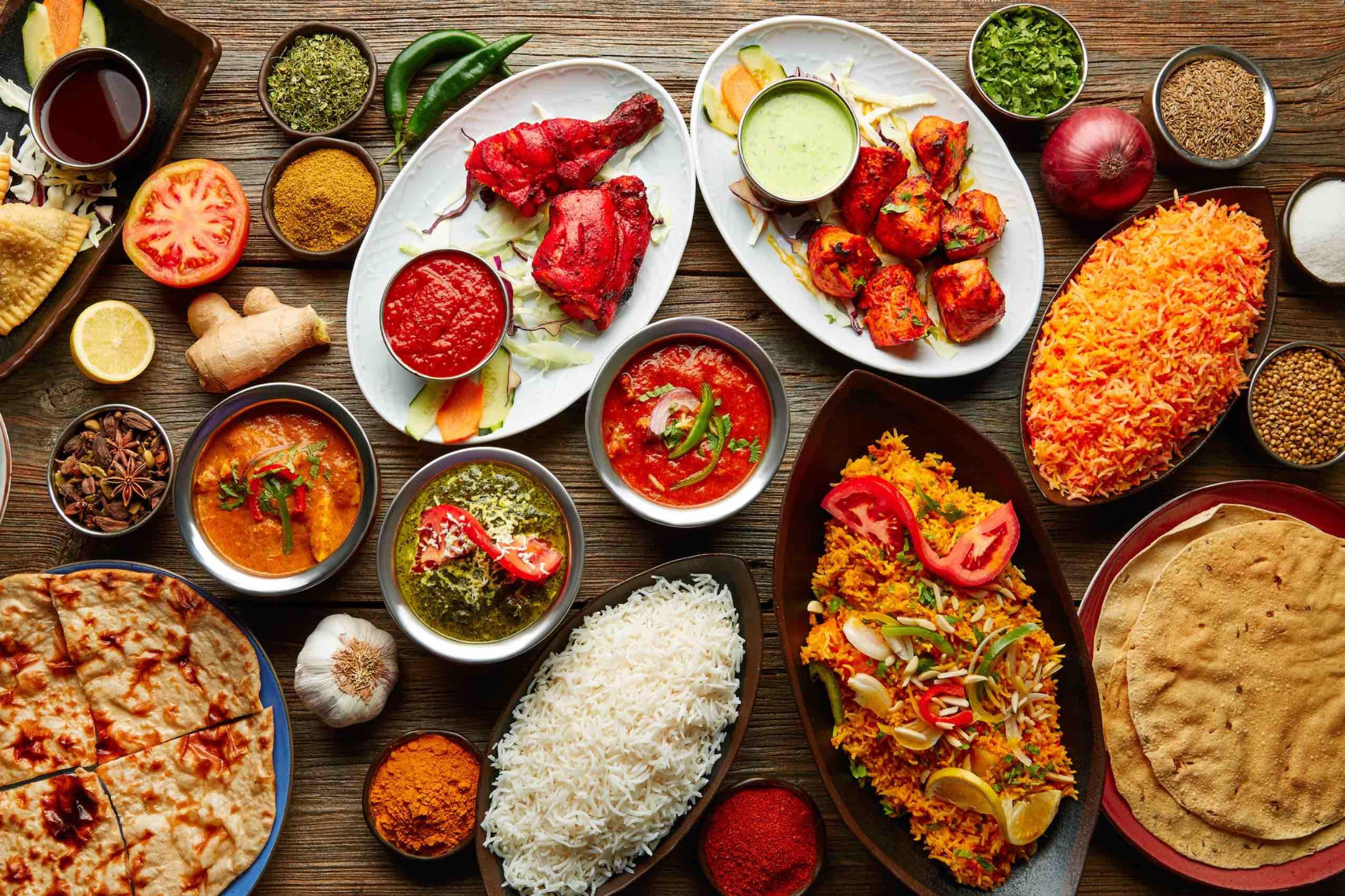 La gastronomie Indienne