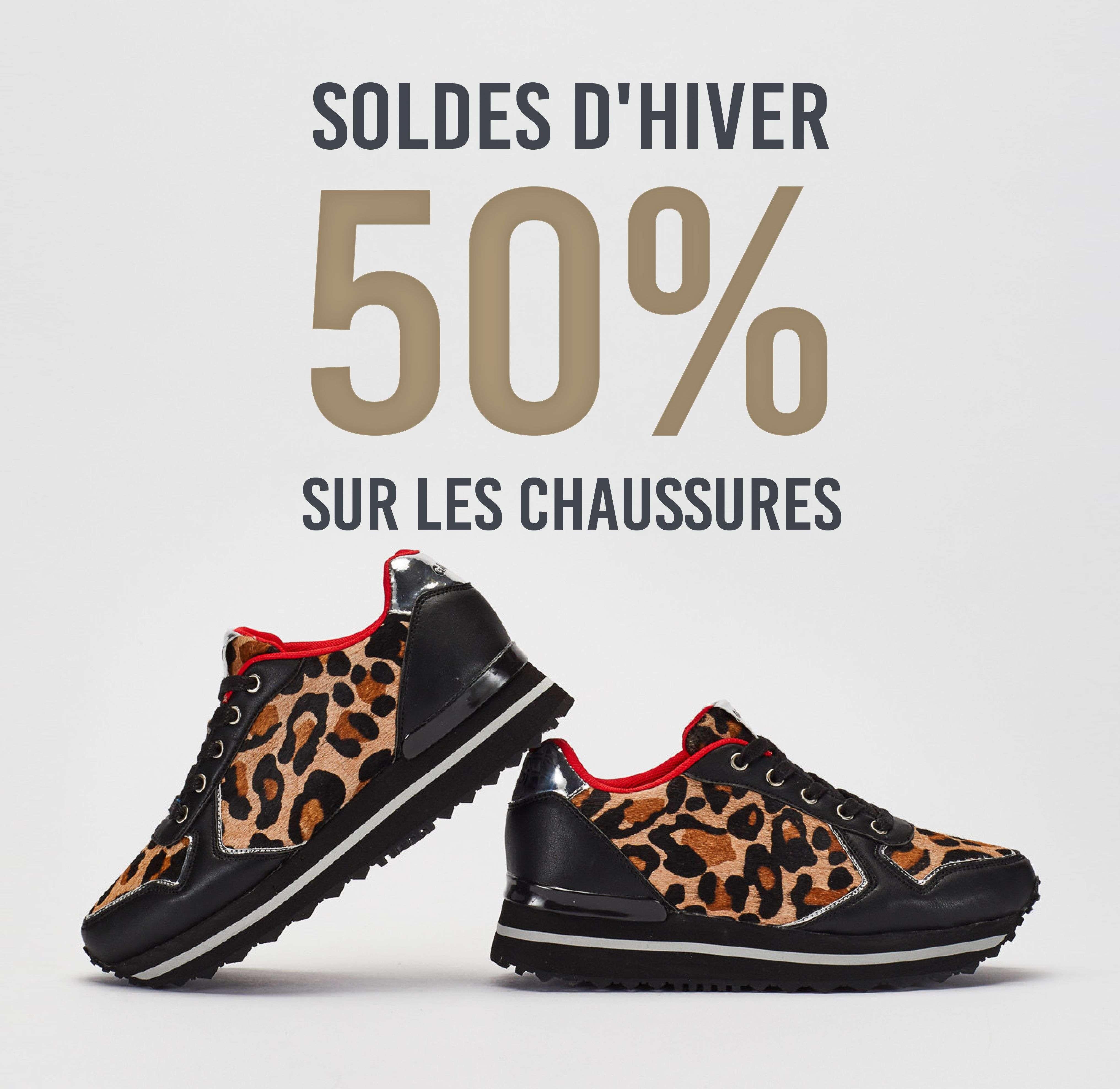 -50% sur les chaussures chez Cap Skirring