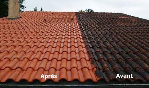 Démoussage et nettoyage des toitures