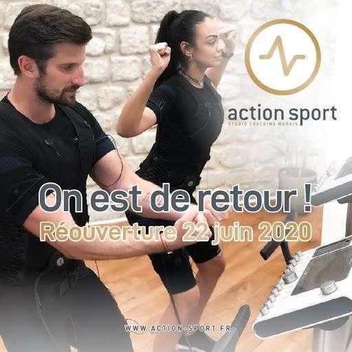 Réouverture Action Sport Marais !
