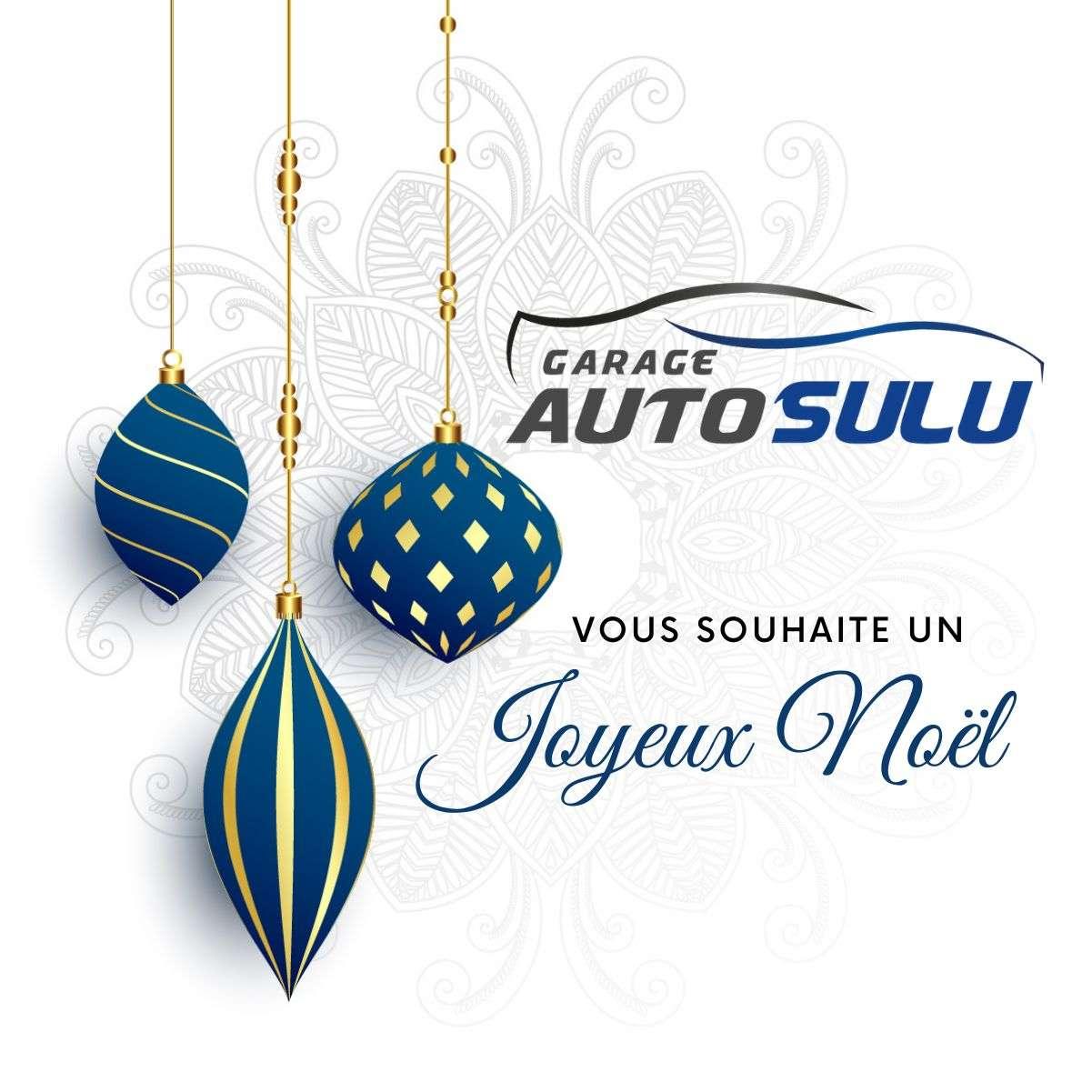 Garage Auto Sulu vous souhaite un joyeux Noël