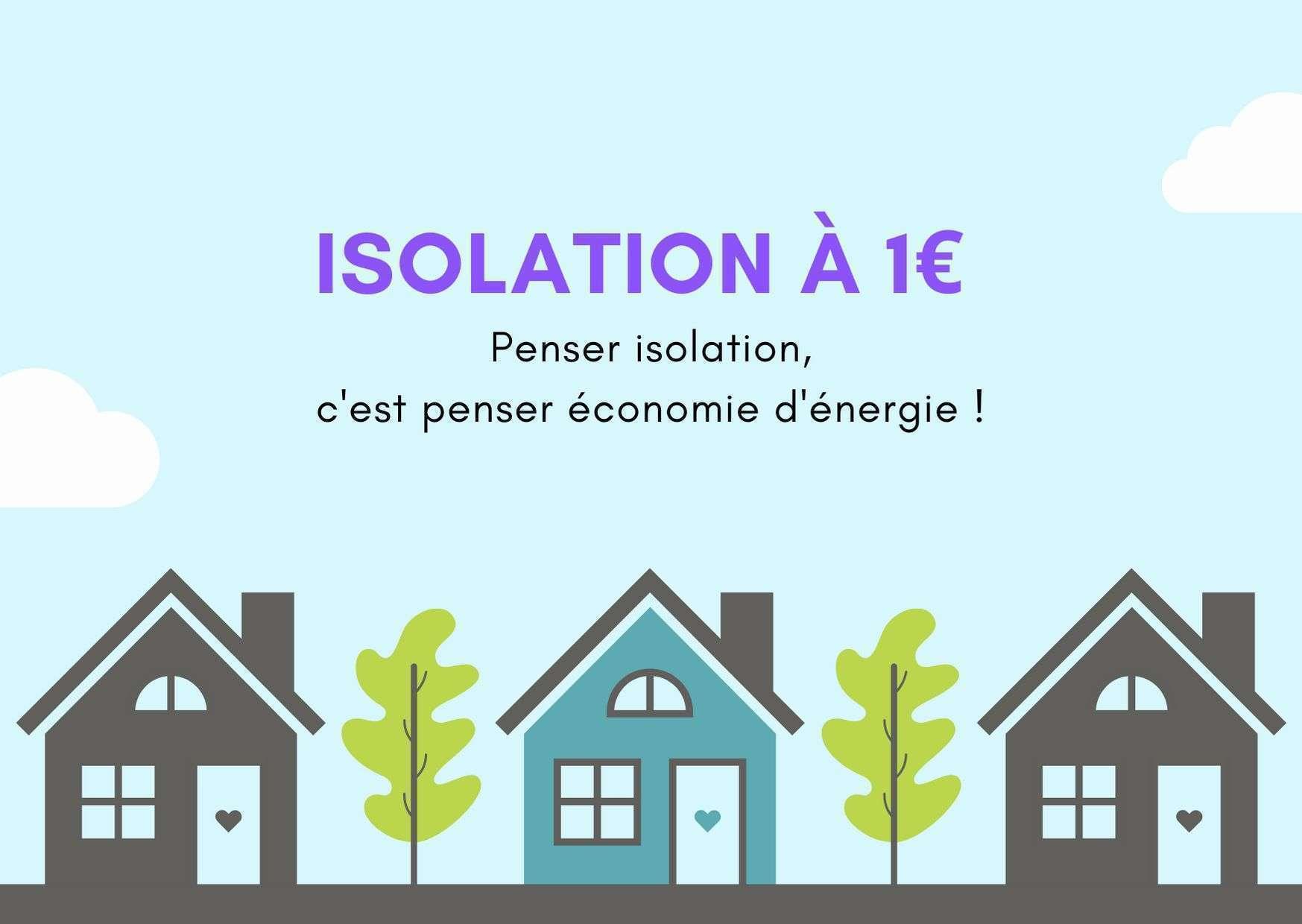 Isolation à 1€