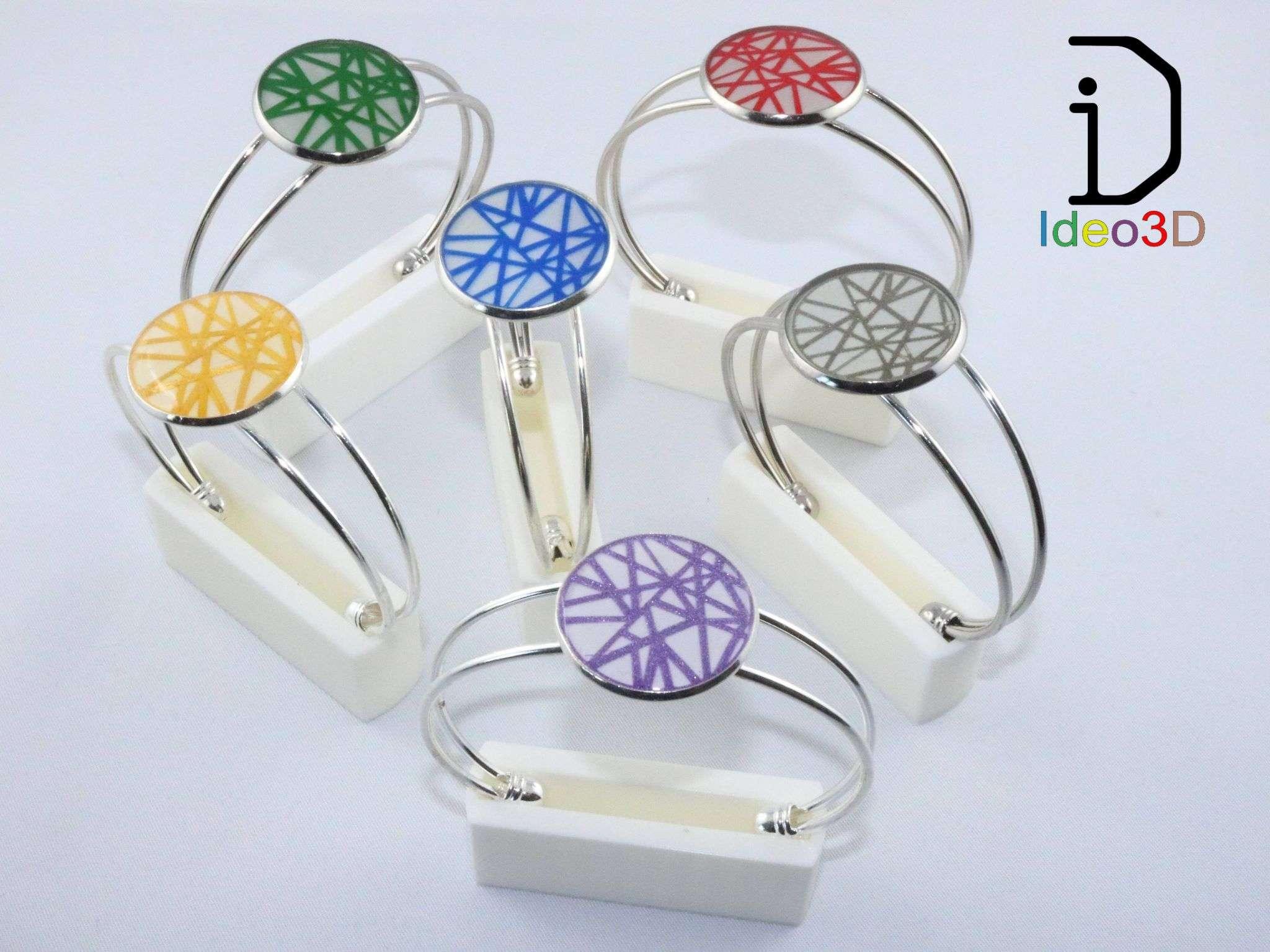 Bracelets en impression 3D