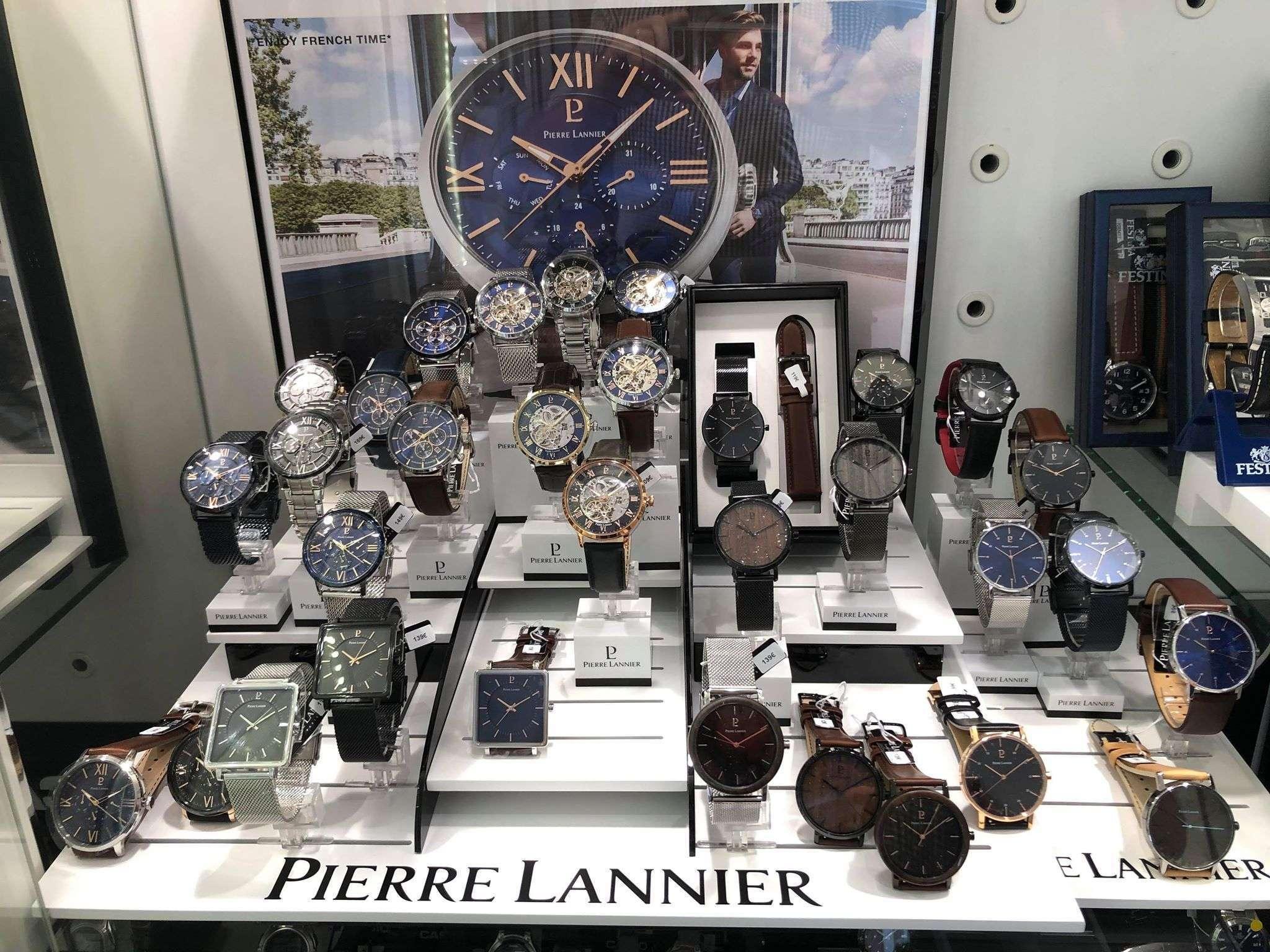 Les montres Pierre Lannier !