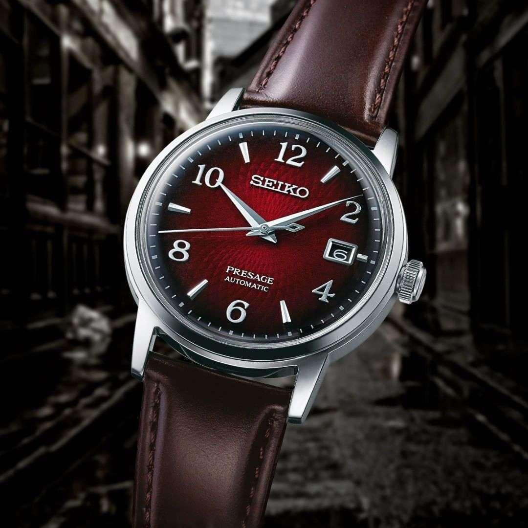 Les montres Seiko !