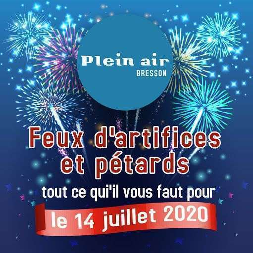 Feux d'artifices et pétards