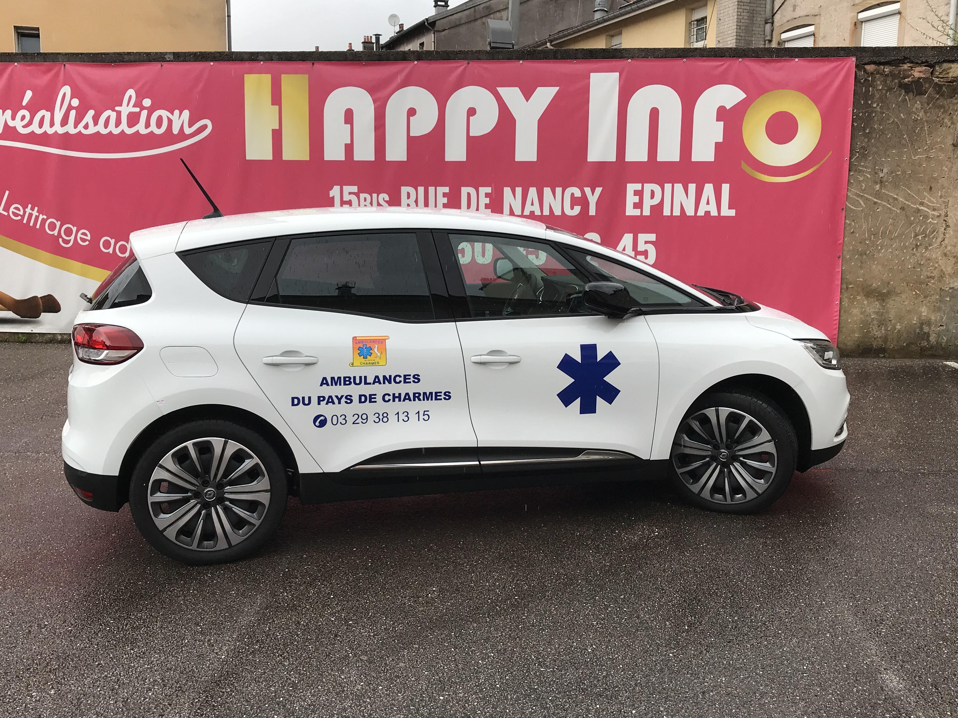 Ambulances de Charmes