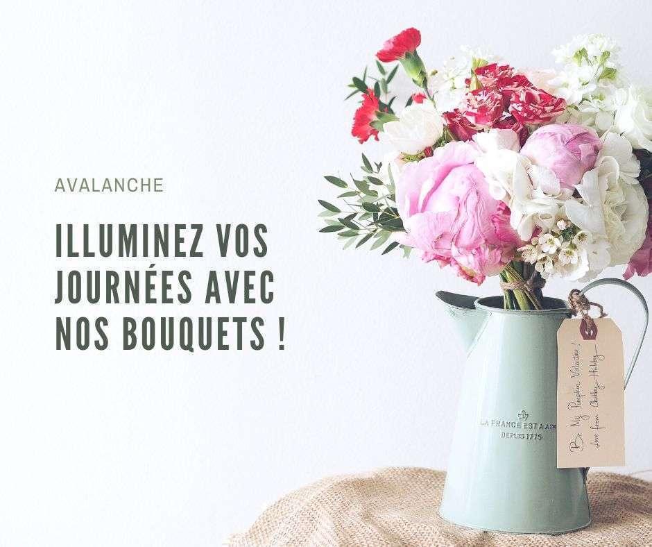 Illuminez vos journées avec nos bouquets
