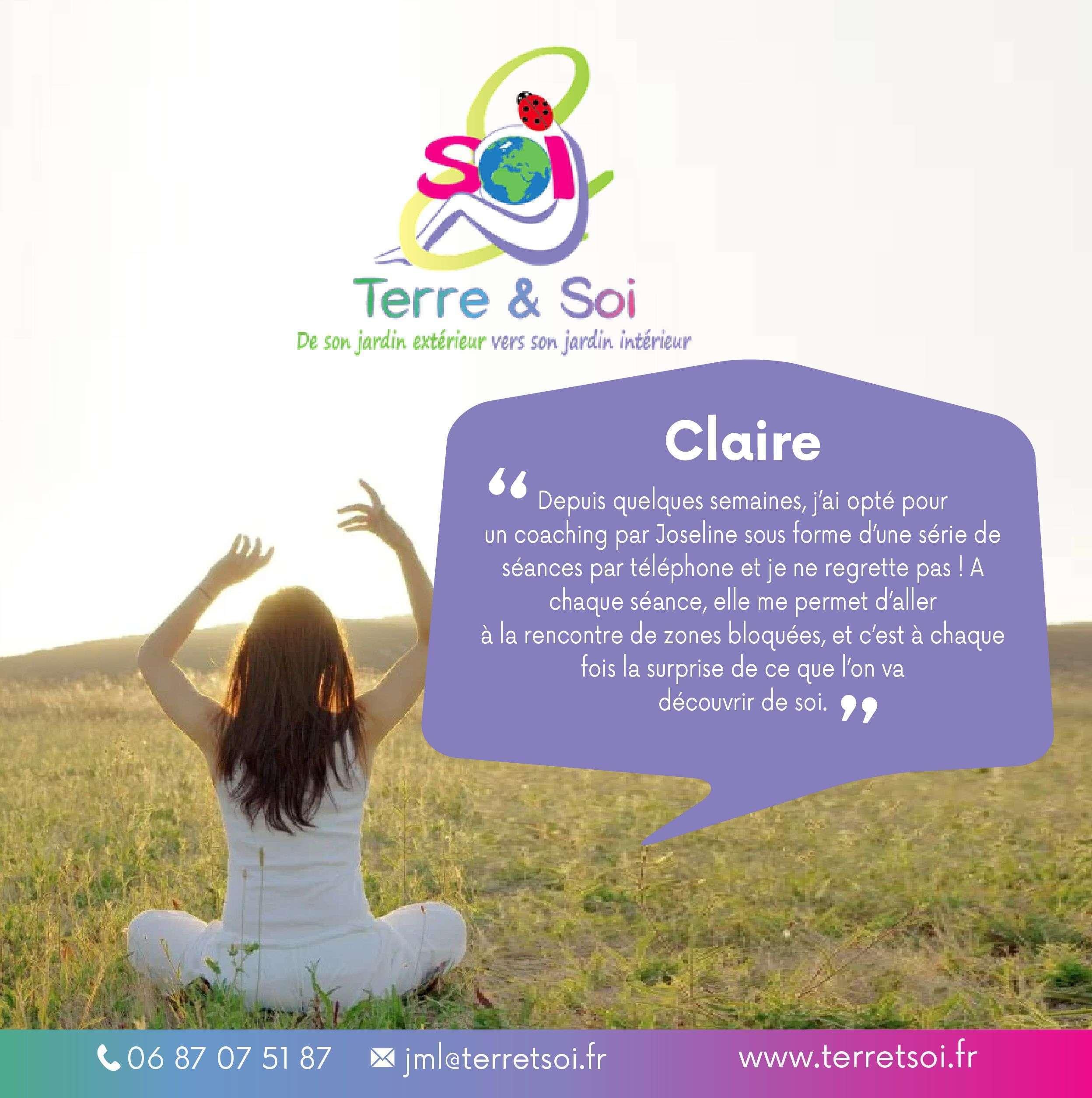 """Témoignage Coaching  """"Claire """""""