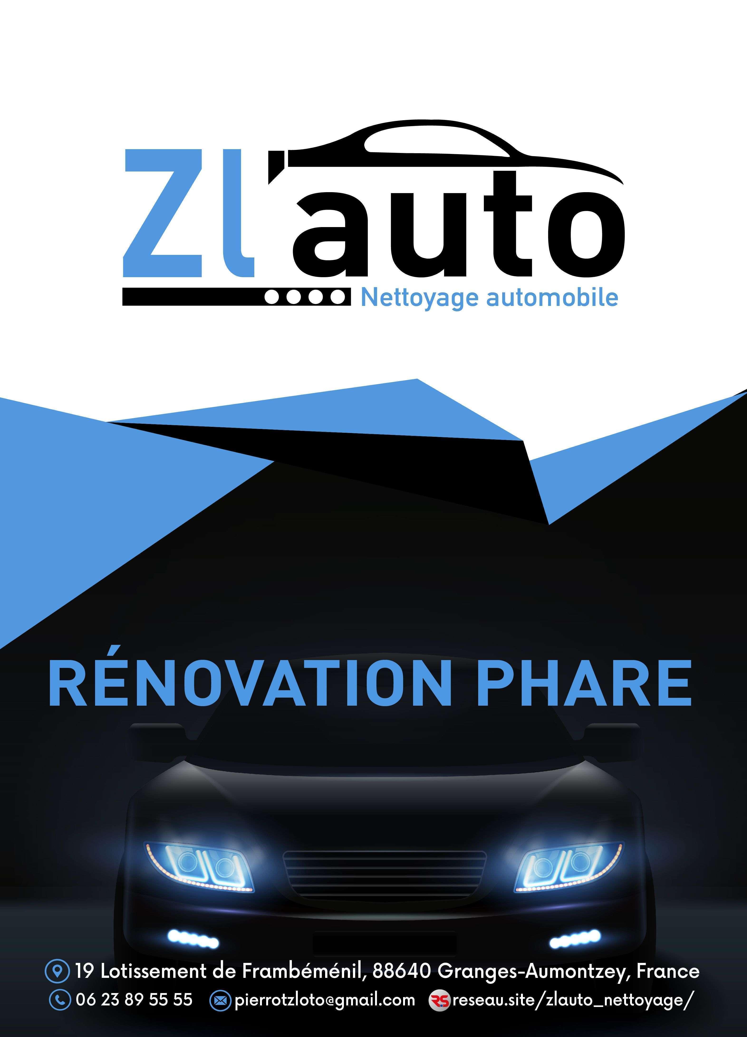 Rénovation phares de voiture