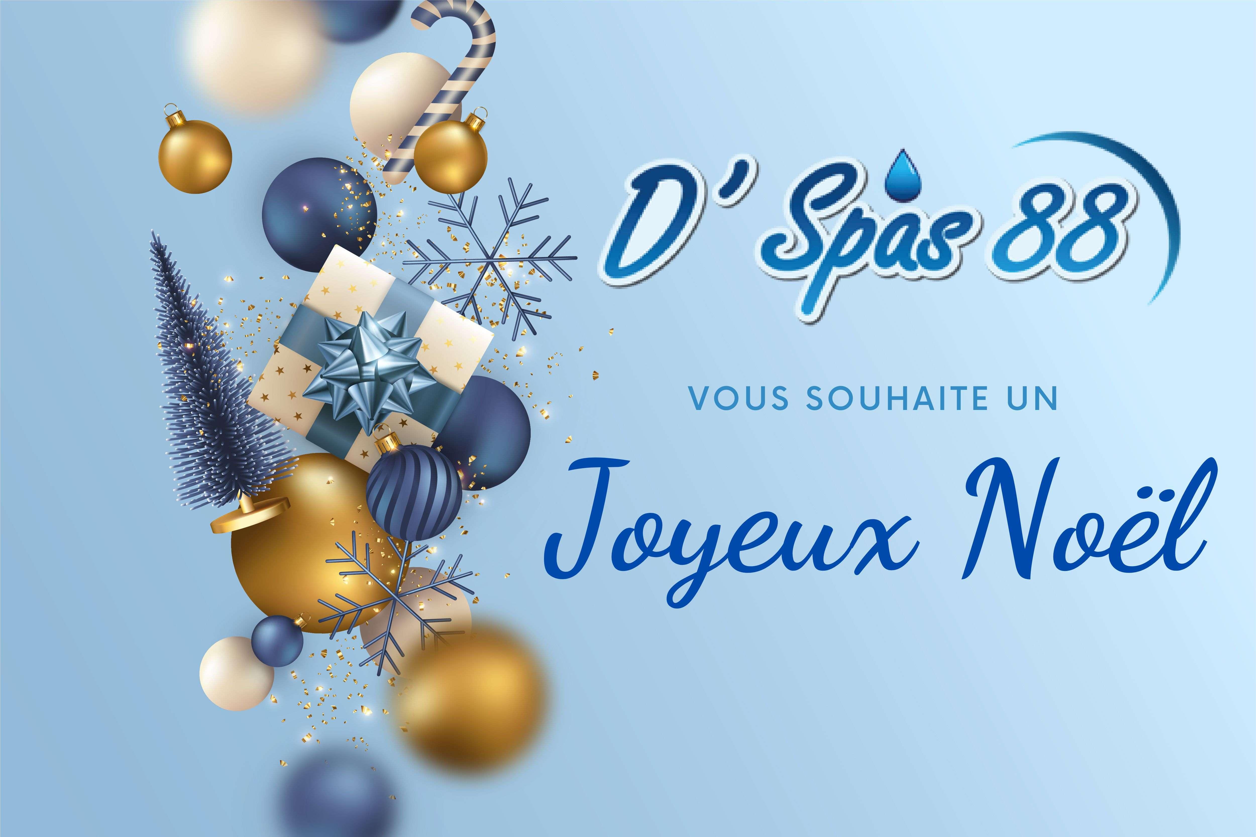 D'spas 88 vous souhaite un joyeux Noël