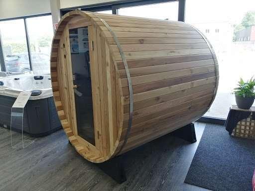 Sauna en forme de Tonneau