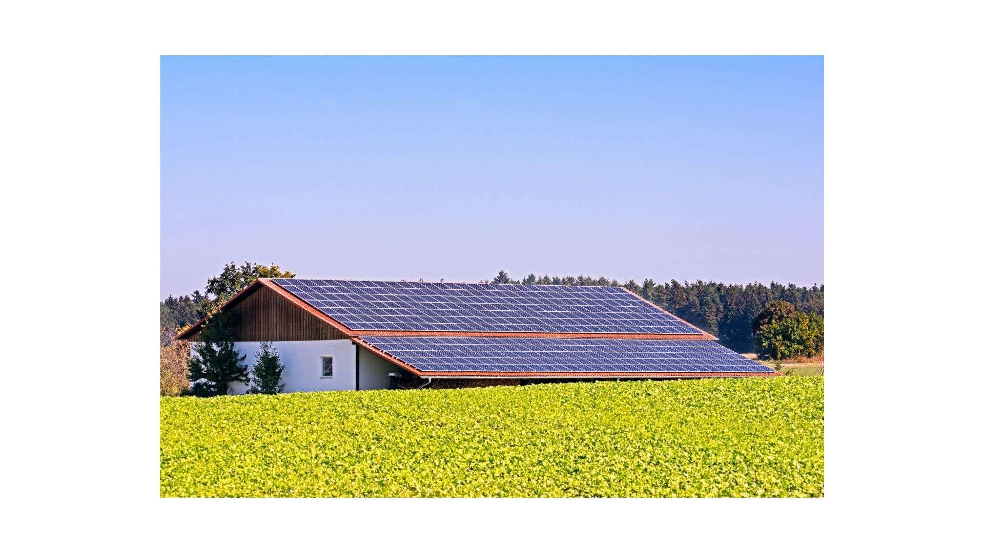 Un hangar photovoltaïque
