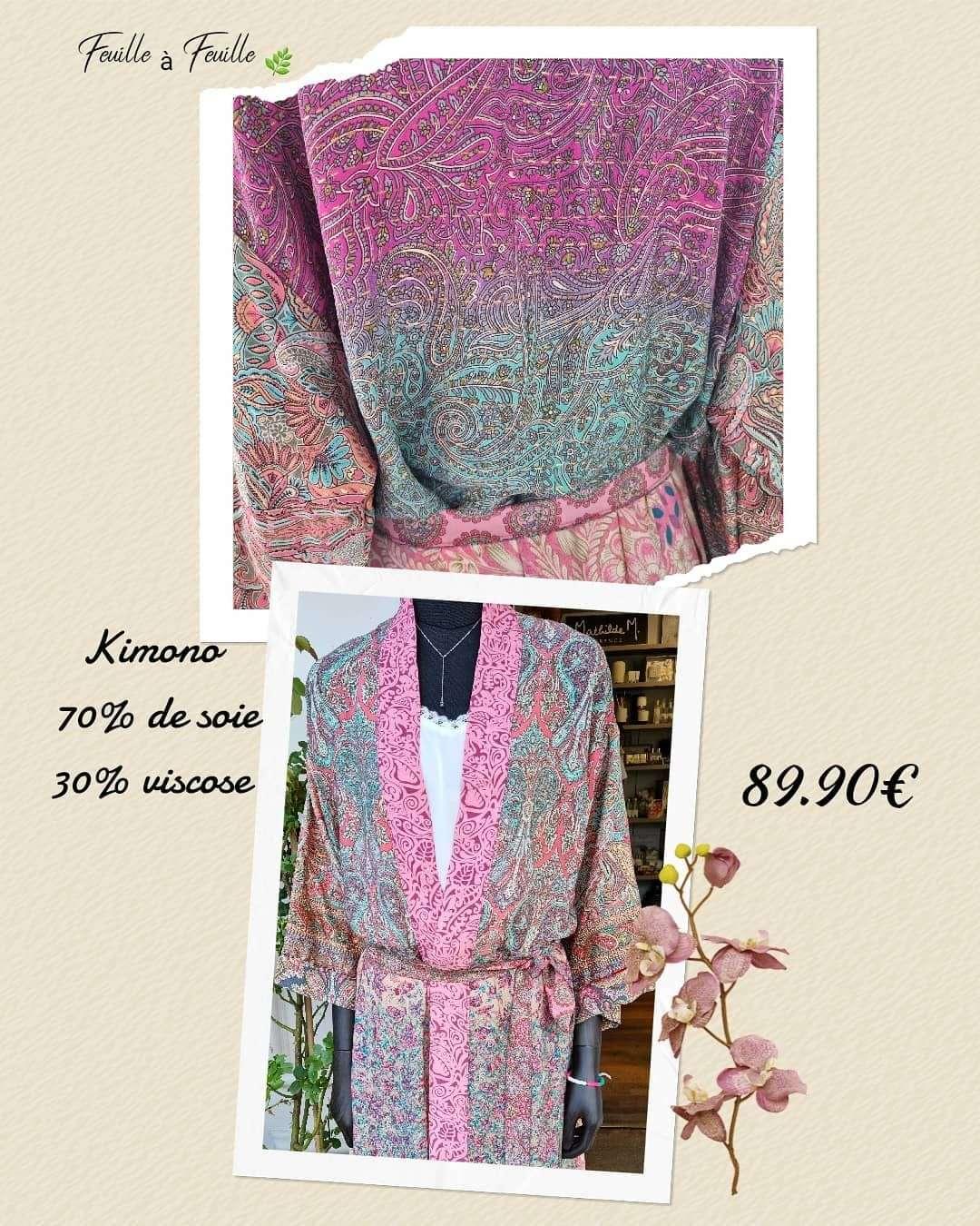 Une Kimono avec un prix raisonnable !