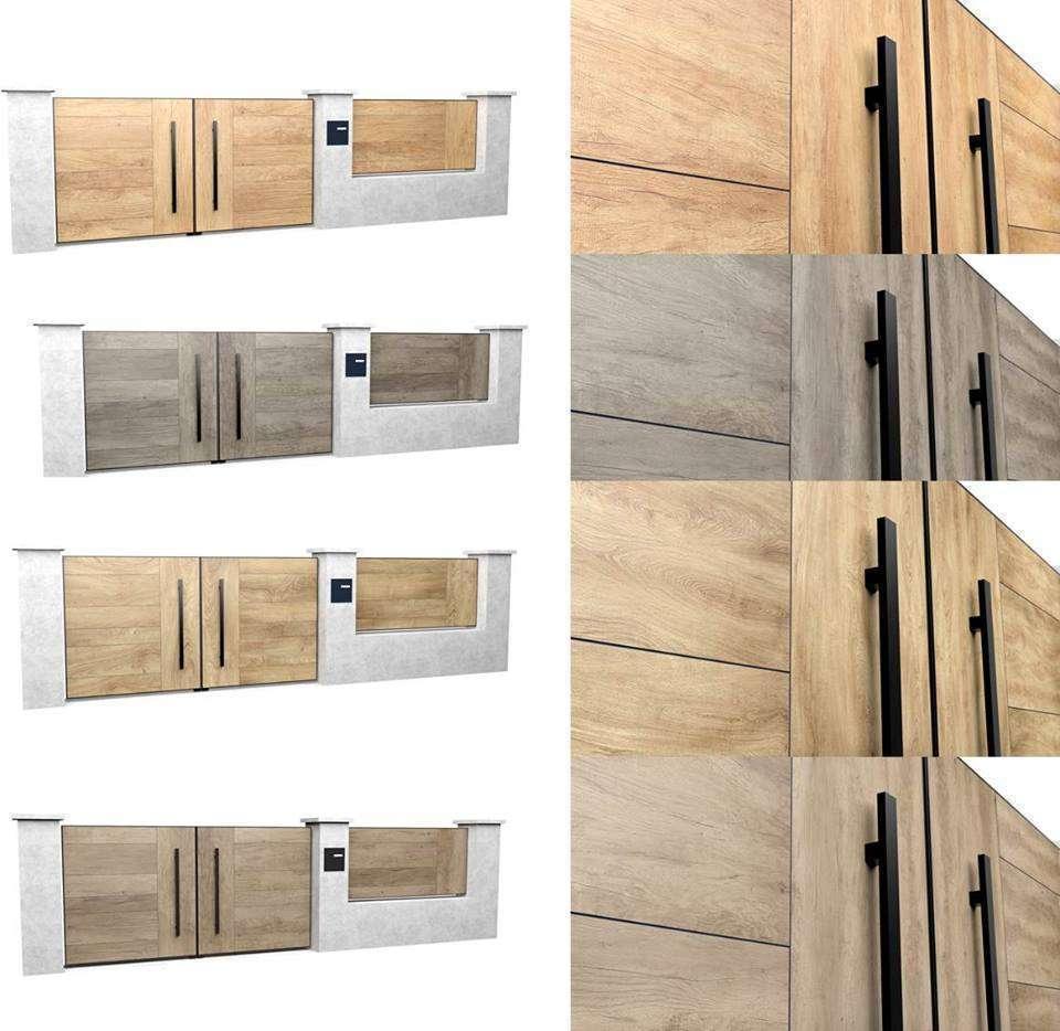 Nouvelle gamme de portails aluminium laqué.
