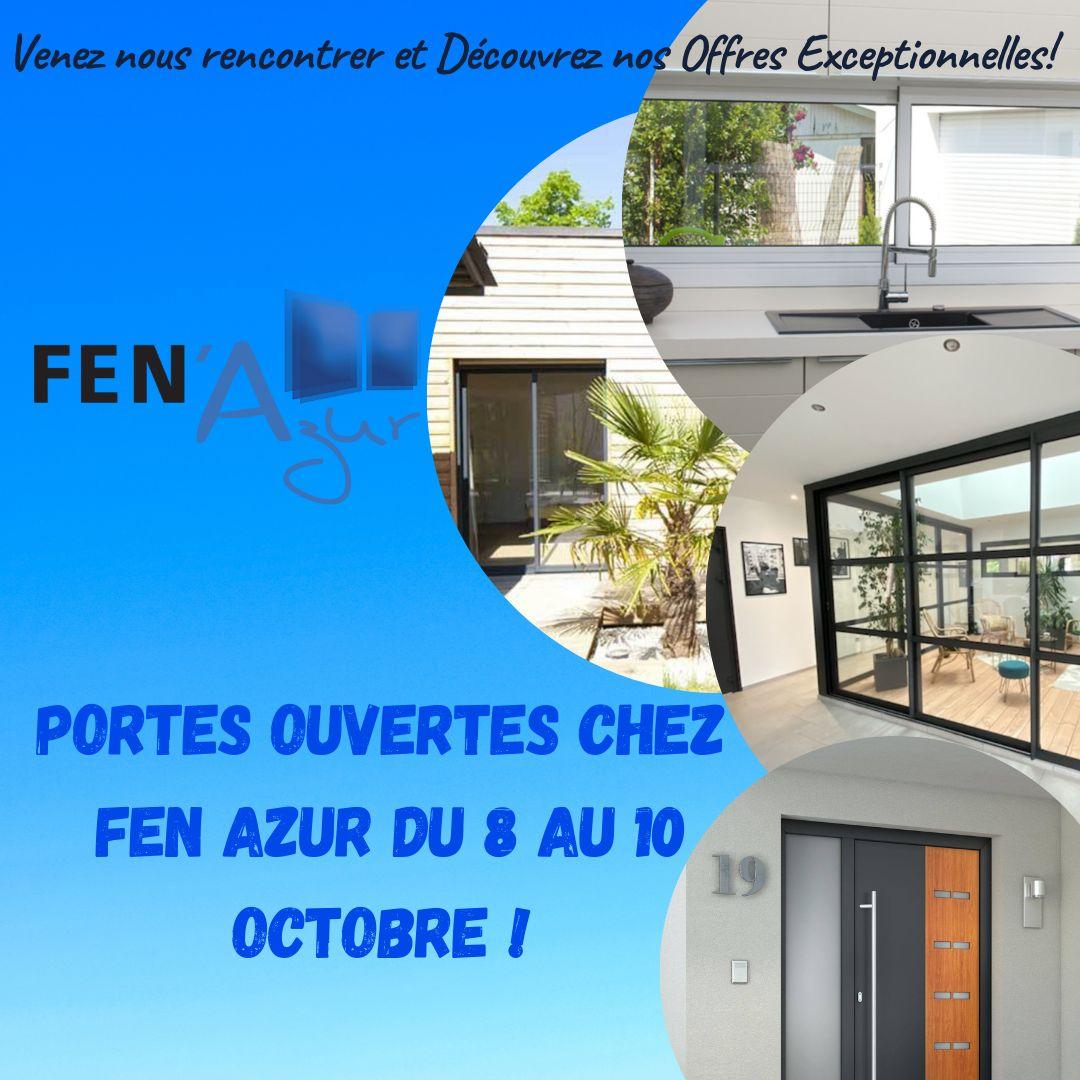 Portes ouvertes chez Fen Azur du 8 au 10 octobre !