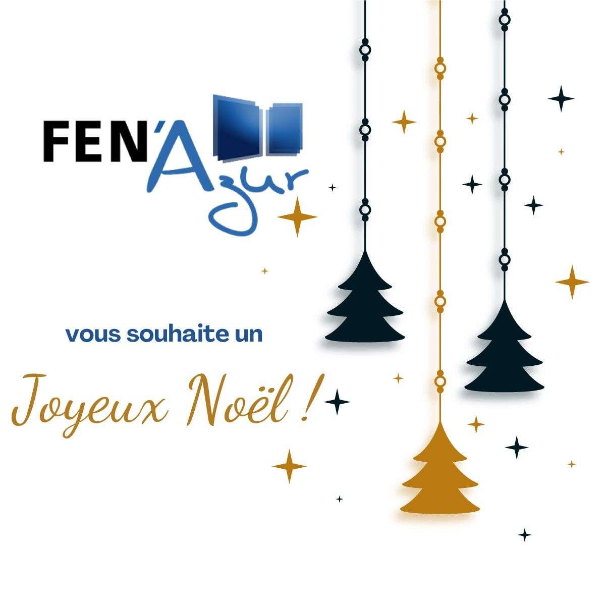 Fen Azur vous souhaite un joyeux Noël