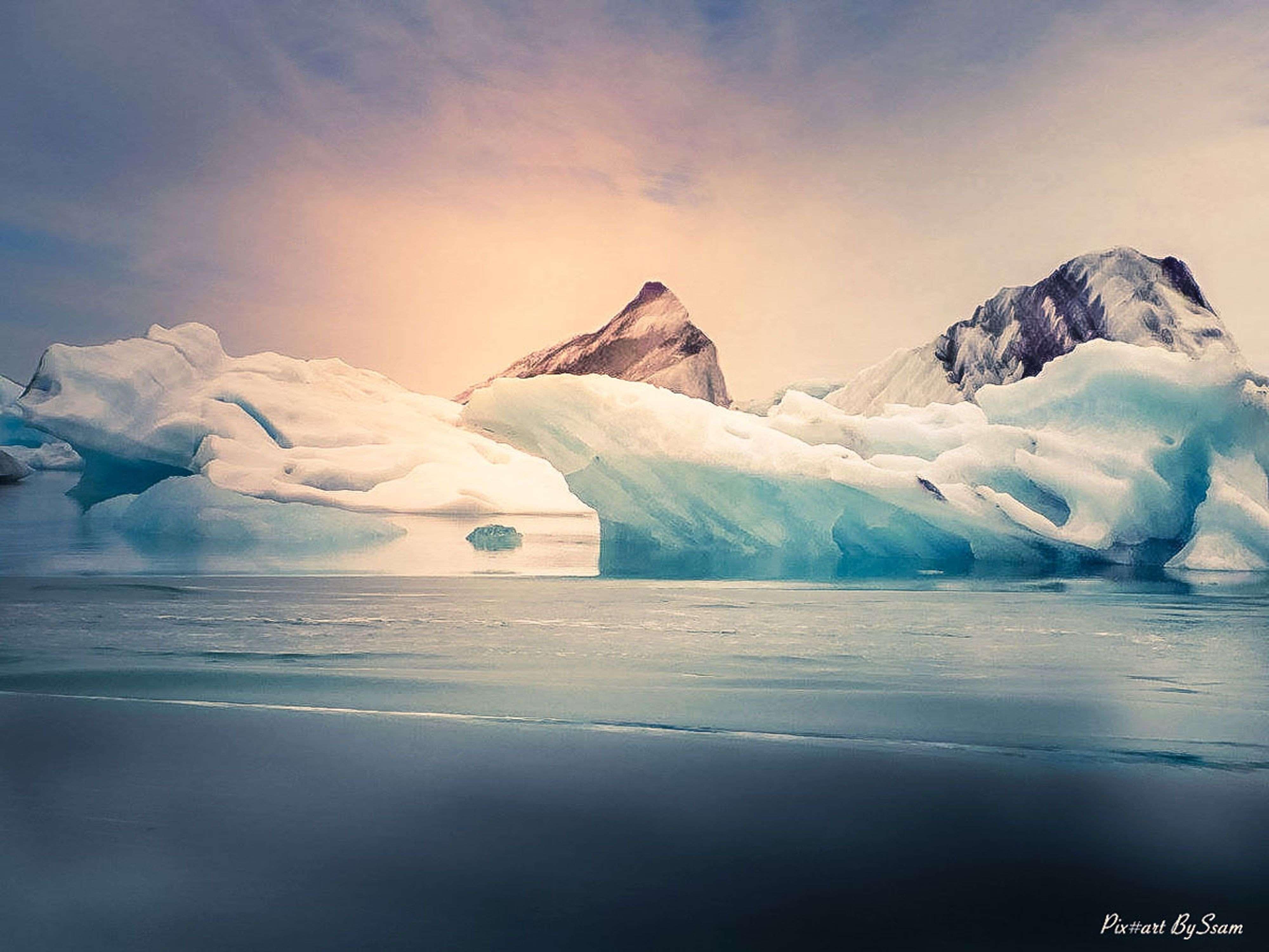 Lac Glaciaire de Jökulsárlón !