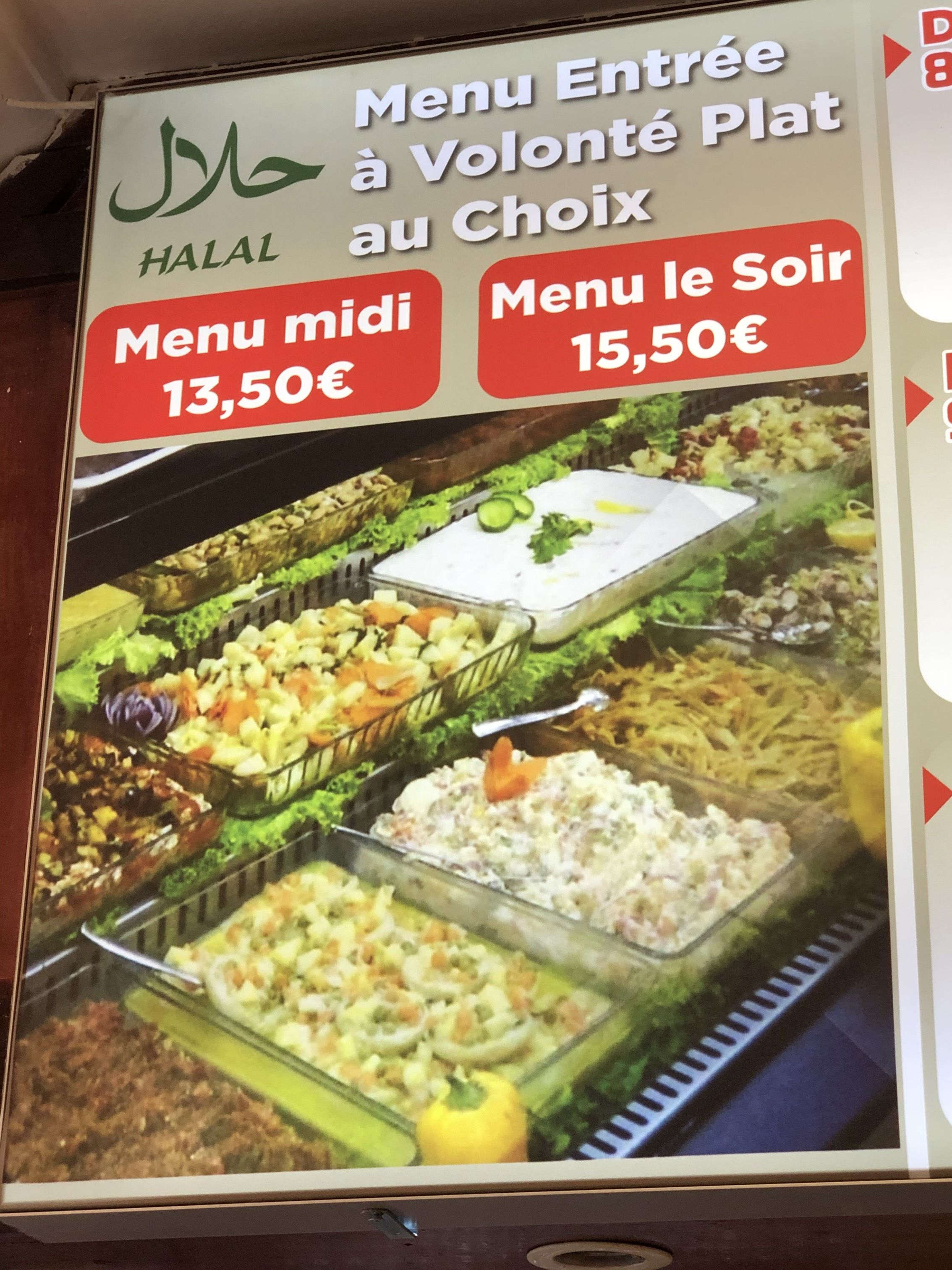 Pour les amateurs de la cuisine Turc