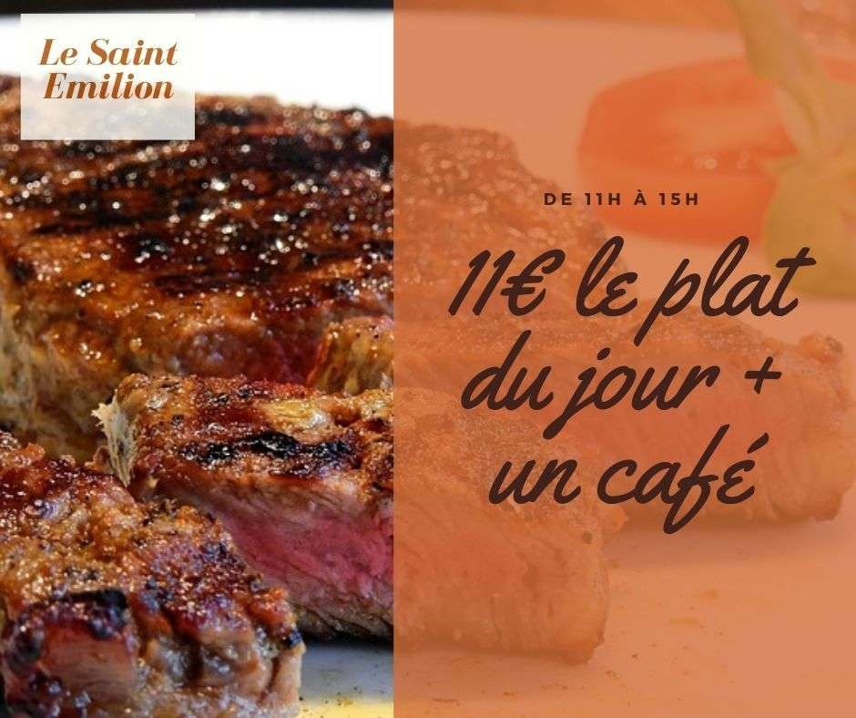 Restaurant le Saint Emilion au service de votre gourmandise