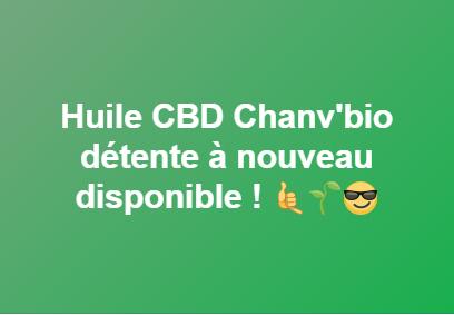 Huile CBD Chanv'Bio